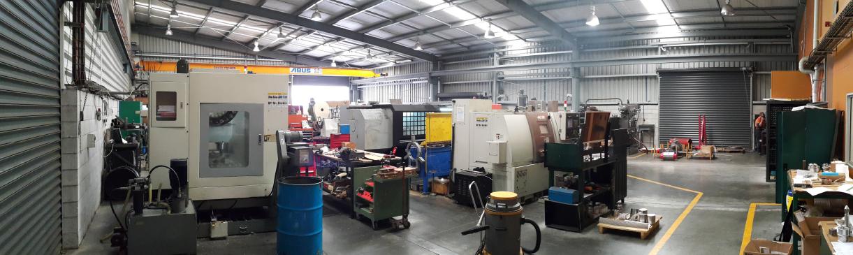 Machining Workshop of BLM at Morrinsville